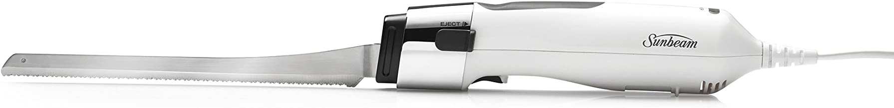 Sunbeam Carveasy Twin Blade Electric Knife, White