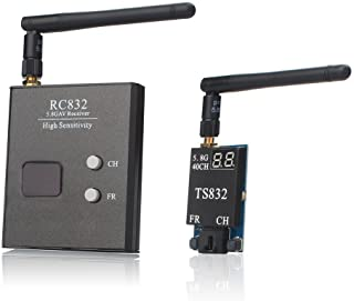 AKK TS832+RC832 5.8G 2000M Range FPV Audio Video Transmitter and Receiver for FPV Drone