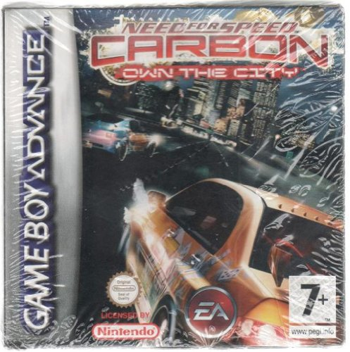 Need For Speed Carbon Own The City Game Boy Advance Gioco Nuovo