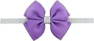 Surprise S Hair Bow Flower Headband Silver Ribbon Hair Band Handmade Diy Hair Accessories Toddler Children,B-D-