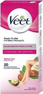 Veet Full Body Waxing Kit - Normal Skin (Pack of 1)