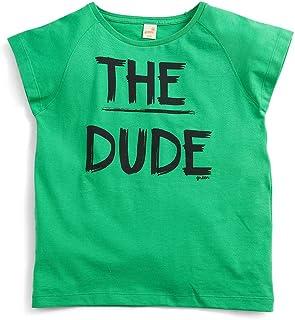Camiseta O Novo Green Verde Claro - Infantil Menino