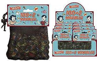 100 + 2 bolsa grande de mármoles de vidrio