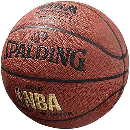 SPALDING(スポルディング) バスケットボール NBA GOLD(ゴールド) 7号球 74-077J