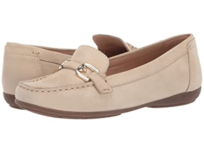 Geox Annytah Moc 1 (Light Taupe) Women