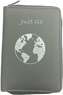 Passport Holder w/Zipper-Multiple Colors- RFID Blocking Travel Wallet Case