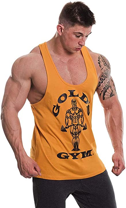 Canottiera da palestra gold`s gym GGVST003