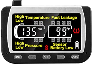 EEZ RV Products EEZTire - TPMS Real Time/24x7 Tire Pressure Color Monitor - incl. 3-Year Warranty
