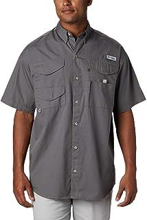 Columbia Short Sleeve Shirt Bonehead Camisa de Manga Corta, Hombre