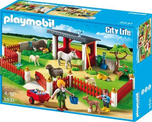 Playmobil 5531 - Tierpflegestation mit Freigehege