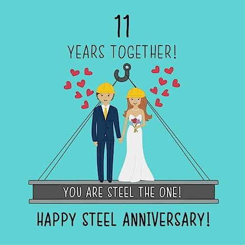 Wedding Anniversary By Year.11th Wedding Anniversary Gifts Amazon Co Uk