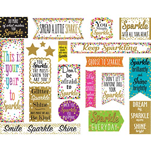 Teacher Created Resources Confetti Sparkle and Shine Mini Bulletin Board (TCR8962)