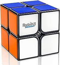 D-FantiX Rubik's Speed Cube 2x2, Gan RSC 2x2 Rubiks Speed Cube 2x2x2 Magic Cube Puzzle Black