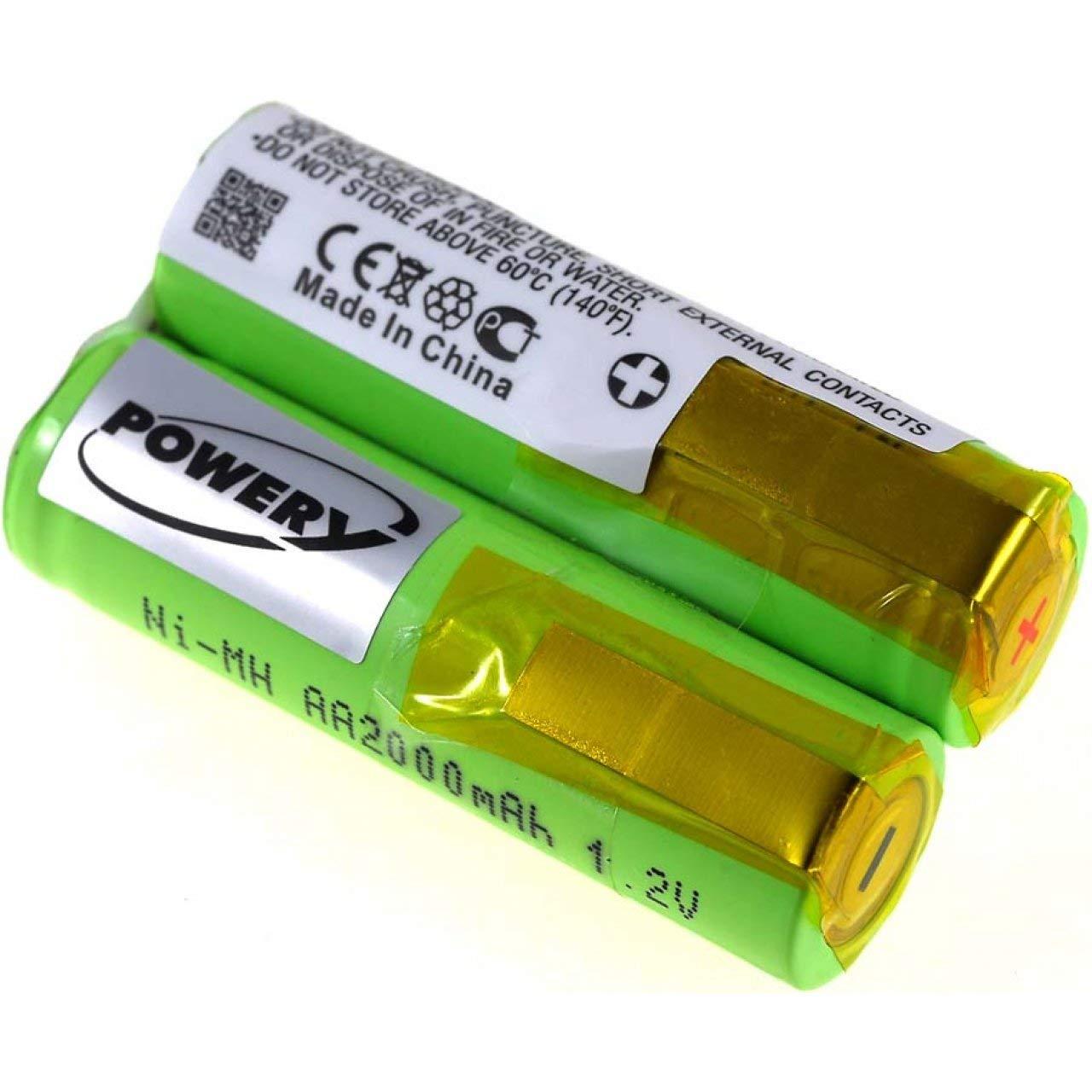 Batería para Afeitadora Philips tipo shb2, 2,4 V, NiMH: Amazon.es ...