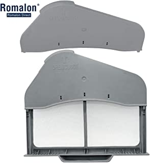 Romalon DC97-16742A Dryer Lint Filter &DC61-02610A Lint Filter Case Compatible with Samsung dryer