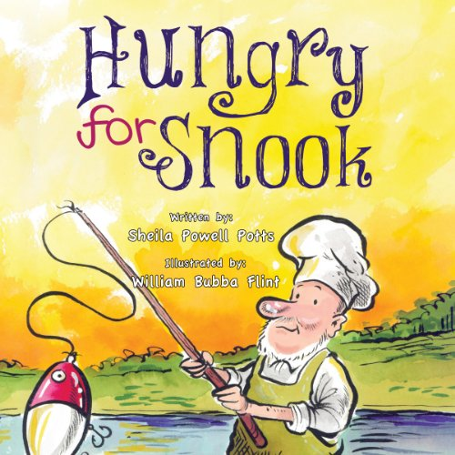 Hungry for Snook audiobook cover art