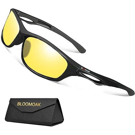 Nachtsichtbrille Zum Autofahren Nachtfahrbrille Mit Polarisierte Gläser Filtern Blendende Blendung Durch Scheinwerfer Tr90 Bruchsicherer Rahmen Uv 400 Schutz Zum Radfahren Laufen Auto