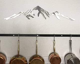 Pikes Peak Colorado Fourteener Mountain 14er Metal Wall Artwork Bedroom Living Room Kitchen Patio Office Decor