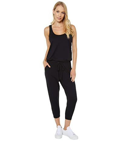 bobi Los Angeles Supreme Jersey Sleeveless Jumpsuit (Black) Women