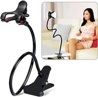 comprar comparacion Sostenedor para télefono móvil, Breett soporte universal de clip para el teléfono móvil Soporte perezoso flexible brazos l...