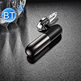 Bluetooth Earphone TOTUDESIGN Wireless Bluetooth 4.1 Headset Handfree Earphone for iPhone Samsung Sony LG Huawei (Black)