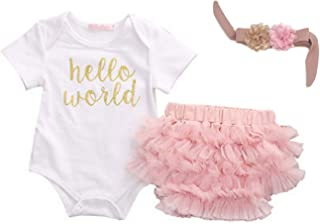 Hello Cute Baby Boutique World Boys Girls 3 pcs Set