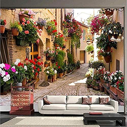 Tapeten Wandbild Hintergrundbild Fototapeten Continental Mediterrane Architektur Schlafzimmer Wohnzimmer TV Landschaft Wandmalerei Wandbild