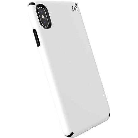 Speck iPhone Xs Max Case, Presidio PRO, White/Black