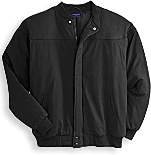 Men's Padded Poplin Shell Nylon Lined La Paz (Derby Style) Bomber Jacket