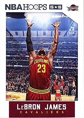 Lebron James 2015 2016 Hoops NBA Basketball Series Mint Card 14 M (Mint)