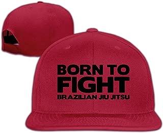 Classic Baseball Caps Born to Fight Brazilian Jiu Jitsu Personalized Summer Snapback Hats