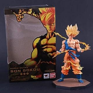 WUluMEI Tamashii Nations Bandai Figuarts Zero Dragon Ball Z Helden Sohn Gokou Sohn Goku Schlacht Super Saiyajin PVC Action...