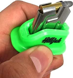 Hilljak Ruger Mark I, II, III, IV, 22/45, S&W Victory, Browning Buck Mark, Beretta U22 Neos 22LR Magazine Loader, Speed Loader Quickie Loader - Neon Green