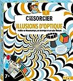 C'est pas sorcier Illusions d'optique - boîte avec accessoires: Avec lunettes 3D, 20 cartes...