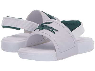 Lacoste Kids L.30 Slide 120 1 CUI (Toddler) (White/Green) Kid