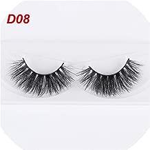 Sexy Fashion Charming Stylish 3D Mink False Eyelashes Long Thick Eye Lashes Extension Natural Eyelash Makeup Tools,D08