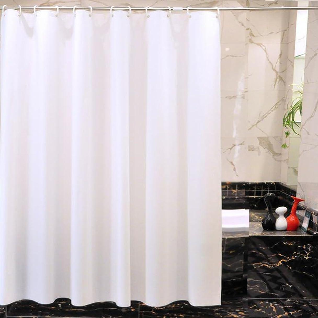 尋ねるどっちとは異なりシャワーカーテン おしゃれ バスルーム カーテン 防水防カビ 無臭 バスカーテン 180x180cm 12個フック付き 浴室 洗面所 目隠し用 間仕切り