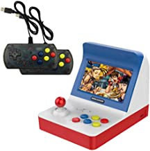 Mini Arcade Game, 4.3 Inch Retro Arcade Console Classic Handheld Video Games Home Travel Tiny Arcade Machines With 2 Controllers - Build In 3000 Classic Games For Kids Adults