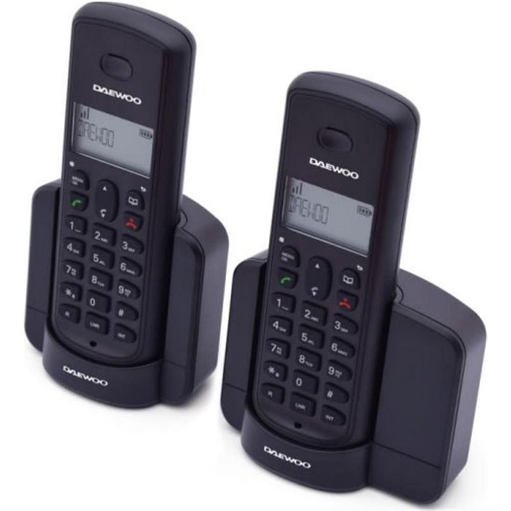 Daewoo Dect Dtd-1350 Duo - Teléfono, Negro: Amazon.es: Electrónica