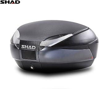 Shad Topcase Sh48, anthrazit/schwarz, 48 l, Sh48, Schwarz