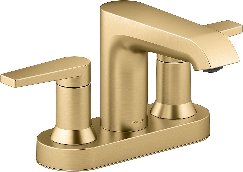 Kohler Max 75% OFF 97094-4-2MB Hint Plumbing Fixtures Popular standard Brushed Vibrant Moder