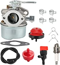 ATVATP 632107 Carburetor for Tecumseh 640084 Carburetor LH195SA LH195SP OHSK110 OHSK120 OHSK125 632107A 640084A 640084B Toro Craftsman Snow Blower