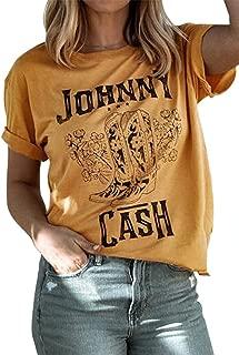 Best johnny cash tee Reviews