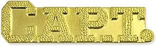 Captain Gold Chenille Sports Lapel Pin