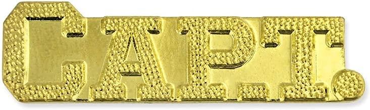 JDS Industries Captain Gold Chenille Sports Lapel Pin
