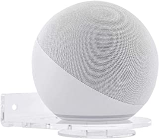 Kiner Transparante wandhouder voor Echo Dot 4e generatie, universele houder voor Echo Dot (3e generatie), wandhouder, houd...