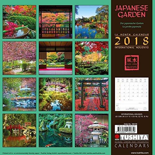 Japanese Garden 2018: Kalender 2018 (Mindful Edition)