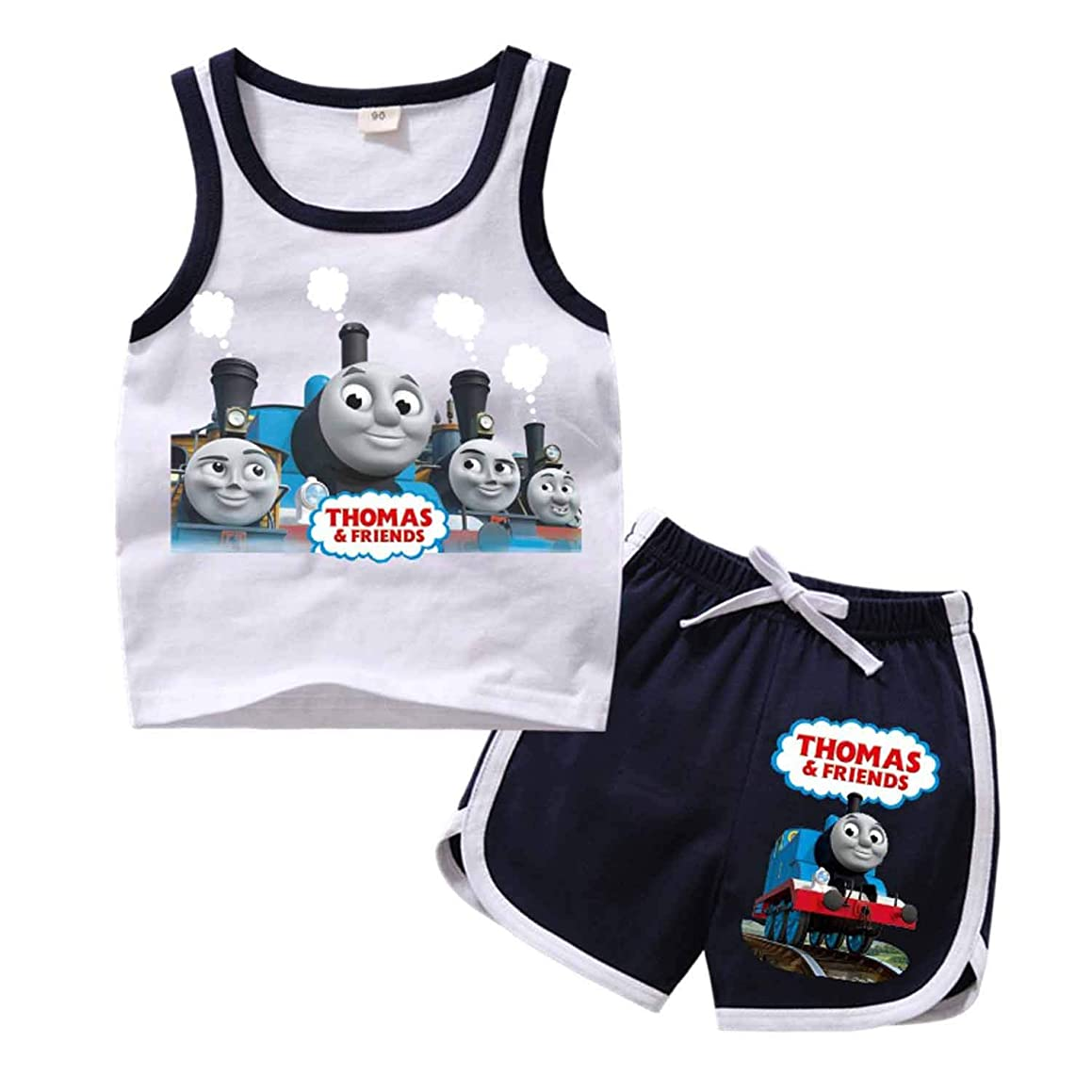 PCLOUD Toddler Childrens Thomas and Friends Cotton Vest Suit g75912359613
