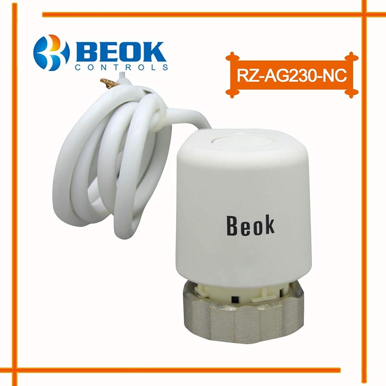 RZAG230NC Normal Close AC 230V Thermal Electric Actuator for Water Floor Heating System  (Voltage  220V Voltage)