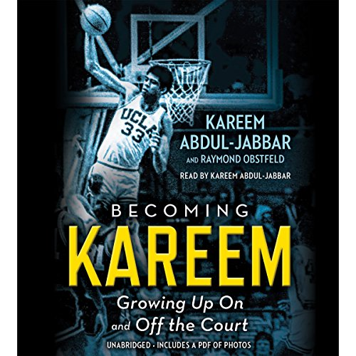 Becoming Kareem audiobook cover art